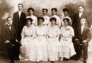Primer grupo de graduados Universidad de Puerto Rico