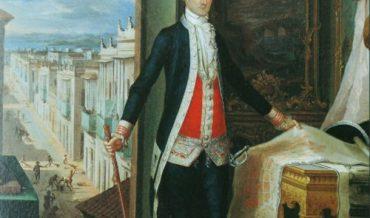 Cronología de gobernadores del siglo XVIII