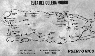 El cólera morbo en Puerto Rico, 1855 a 1856
