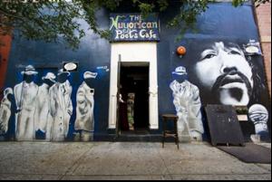 Entrada al Nuyoricans Poets Café