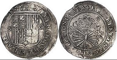 8 reales, ceca de Sevilla